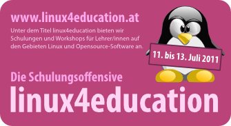 Schulungsoffensive linux4education